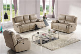 Genuine Leather Chaise Leather Sofa Electric Recliner Sofa (768)