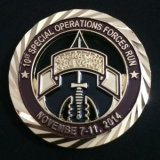 High Quality Brass Soft Enamel Challenge Coin