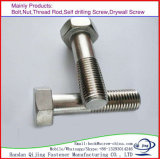 Galvanized Carbon Steel DIN931/DIN933 Hex Head Bolt M6-M36