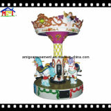 3 Seats Coin Operated Carousel Merry Go Round