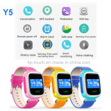 GPS Tracker Watch for Children with GPS+Lbs Dual Position (Y5)
