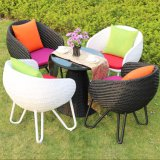 1+4tables and Bar Stools Leisure Rattan Wicker Table Garden Furniture Sets Z387