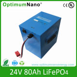 24V 80ah Lithium Iron LiFePO4 Battery for UPS