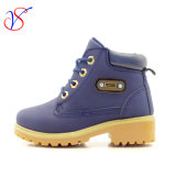 2016 New Style Injection Baby Kids Children Safety Working Work Boots Shoes for Outdoor Job (SVWK-1609-033 NAVY)