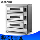 Commercial Digital Control 3 Layers Baking Pizza Oven