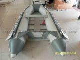 Inflatable Boat with Coated Plywood Floor