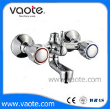 Zinc Body Double Handle Bath Shower Faucet (VT60201)