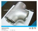 Seamless Duplex Steel S31803 Butt Welding Tee