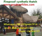 Artificial Thatch Synthetic Thatch Plastic Palm Thatch Roofing Tiki Bar