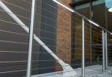 Quality Vertical Cable Railing Panels with Stainless Steel Wire Balustrade for Balcony