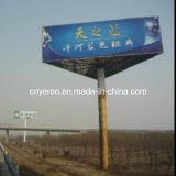 Three Face Super Design Steel Frame Structure LED Billboard