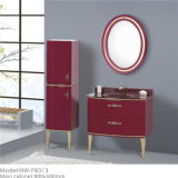 Wholesale Floor PVC Vanity Cabinet with Side Cabinet