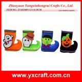 Halloween Decoration (ZY16Y049-1-2-3-4 19CM) Halloween Boot Cheap Halloween Gifts