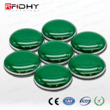 on-Metal NFC Sticky Dome Token - Ultralight - Green - 15 mm