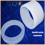 High Temperature Round Thick Wall Polished Fused Silica Glass Ring
