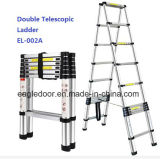 Double Aluminum Telescopic Ladder (EL-002A)