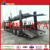 Hydraulic Cylinder System Two Axles Car Carrier Trailer