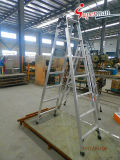High Quality Aluminum Ladder with Foldable