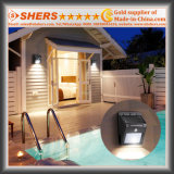 Solar Motion Sensor Light with Adjustable Brightness, Dim Light Function