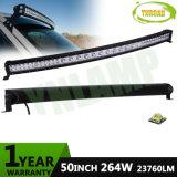CREE 50inch Hybrid Row Curved Combo Beam LED Light Bar