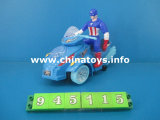 Hot Selling Plastic Toys B/O Motorcycle (945115)