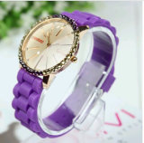 Plastic Cement Diamond Simple Elegant Colorful Personality Watch