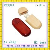 Paypal Payment Wooden USB Flash Drive (GC-D044)