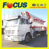 Low Cost 3 Section, Folded, Hydraulic 24m Concrete Pump Truck