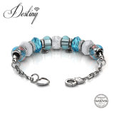 Destiny Jewellery Crystal From Swarovski Charm Beaded Bracelet