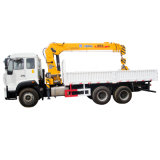 6X4 Hydraulic Mounted Crane Truck with Crane