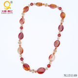 Hotsale Agate Necklace Charm Chunky Costume Necklace
