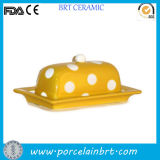 Yellow Colored High Quality Butter Cheese Plate