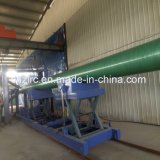 Mechanical/Full Automatic Composite/GRP/FRP/Fiberglass Lighting Pole Winding Machine Zlrc