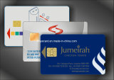 SGS Approved Top Grade Contact Chip Card