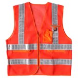 Red Reflective Summer Safety Clothing