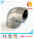 Stainless Steel Pipe Fitting 45 Welded Elbow 316