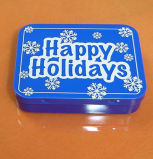 Small Mint Tin Metal Gift Packing Box with Printing