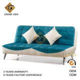 Blue Fabric Upholstery Living Room Sofa (GV-BS-501)
