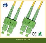 Fiber Optic Patchcord Sc APC-Sc APC Sm 9 125 Duplex