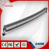 240W CREE Dual Row Curved LED Light Bar