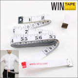 1.5meter White PVC Tailor Tape Measure for Promotional Gift