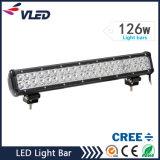 "20"" 126W 10080lm 12V LED Light Bar for Truck Offroad Driving Light"