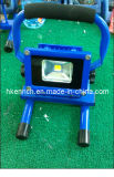 10W Portable Rechargeable LED Flood Light with IP65