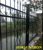 Hand Forged Wrought Iron Fence
