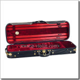 Quality 4/4 Wood Violin Hard Case (CSV-T043A)