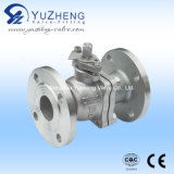 2 PC Ball Valve with Flange End