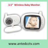 "3.5"" LCD Digital Wireless Baby Monitor with Night Vision"