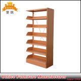 Modern Design One Side 5 Layer Steel Iron Commercial Metal Magazine Shelf Racks for Library and Office