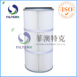 Washable Pleated Polyester Dust Collector Cartridge Air Filter