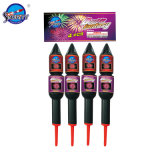 """Sf-R3010 2"""" Double Fantasy Rocket Pyrotechnic Fireworks"""